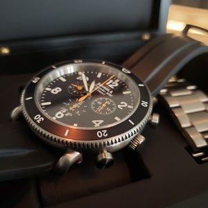 Shinola Black Blizzard Watch (like new) worn twice